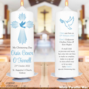 Christening Candles for boys